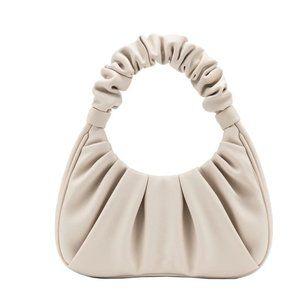 BRAND NEW women's beige/white fashion shoulder bag